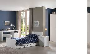 chambre enfant blanc chambre à coucher enfant complète design robinson coloris blanc