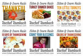 thanksgiving goodies song visual aide listen learn