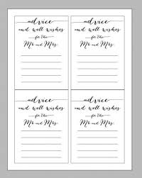 and groom advice cards best wedding advice cards template contemporary resume ideas