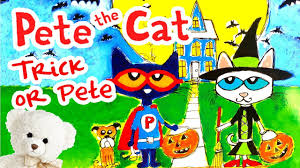pete the cat trick or pete by dean book read