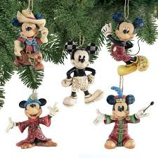 jim shore disney traditions mickey ornament set by disney http