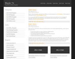 basic 71 free html5 template html5 templates os templates