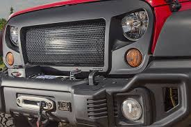jeep wrangler front grill free shipping on rugged ridge spartan grille wrangler jk