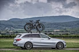 mercedes c class roof bars mercedes c class estate gets more practical with genuine