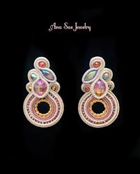 cercei cu magnet 1546 best soutache images on earrings ear rings and
