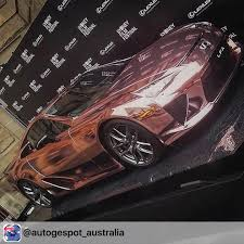 rose gold maserati insane chrome rose gold lexus lfa photo by sydney car scene