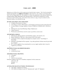 Computer Programs List For Resume Drafter Resume Resume For Your Job Application