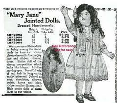 target toy ad black friday sears 1921 f u0026 b mary jane doll ad sears catalog pinterest