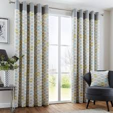 Yellow Window Curtains Impressive Grey And Yellow Window Curtains And Yellow And Grey Zig