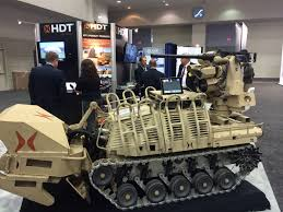 the 5 coolest robots at the biggest us land warfare show defense one