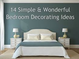 simple wonderful bedroom decorating ideas