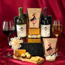 Wine And Cheese Gifts Kendall Jackson Wine Basket Wine U0026 Chocolate Gift Basket Wine