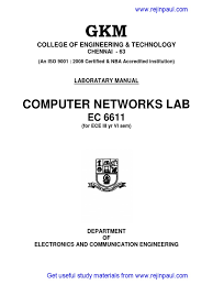 cn lab manual ec6611 pdf transmission control protocol data