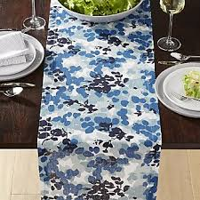 crate and barrel table runner floral table runners crate and barrel
