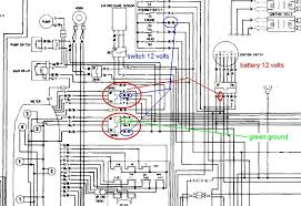 toyota corolla wiring diagram and electrical system 1983 28