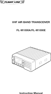 fl m1000a vhf air band transceiver user manual fl m1000 indb edmo