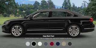 2017 volkswagen passat configurations and colors