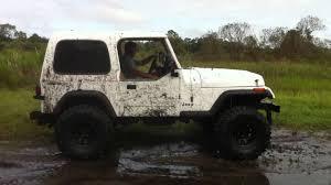 93 jeep wrangler 93 yj wrangler mudding