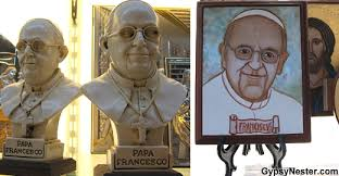 pope francis souvenirs the best worst inappropriate pope swag in italy huffpost
