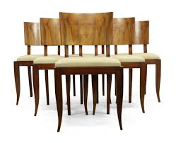 dining chairs trendy art deco dining room furniture uk e mid