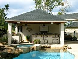 Pool House Cabana by Patio Covers And Cabanas Backyard Retreats