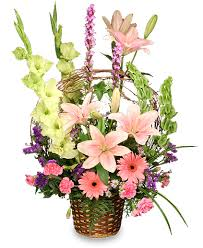 flowers to go basket of memories flowers to go flowers to go