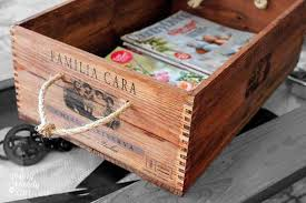 the decorative genius of repurposing places in the home absolutely genius ideas to repurpose wooden crates to add a vintage