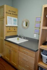 Laundry Room Cabinets For Sale by De Jong Dream House Uses For Tension Rods
