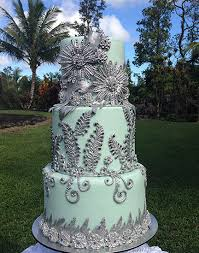 and silver wedding large wedding cakes rachels home made