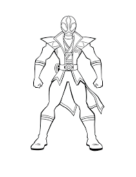 rangers samurai coloring pages