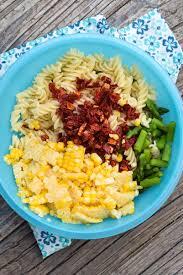 pasta salad with creamy parmesan dressing grumpy u0027s honey bunch