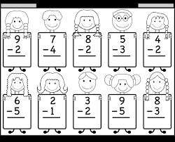 Worksheets For Math Beginner Subtraction U2013 10 Kindergarten Subtraction Worksheets