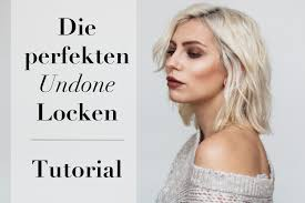 Bob Frisuren Locken Bilder by Tutorial Undone Locken Mit Dem Glätteisen Bob Frisur