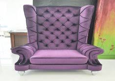 attractive purple high back chair lux tufted velvet high back