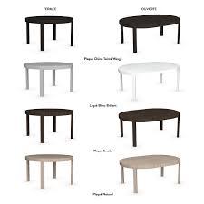 Meuble Salle A Manger Blanc Laque by Table De Salle à Manger Extensible Design Aise Tables Treku