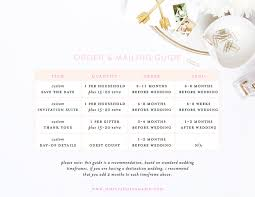 custom wedding stationery 101 when to order and mail custom