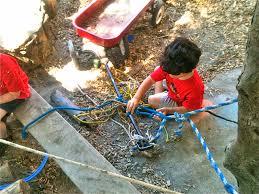teacher tom how to build your own backyard playground