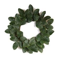 magnolia leaf wreath magnolia leaf wreath