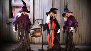 halloween witches decorations halloween witches with cauldron youtube