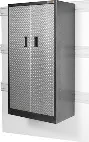 tall garage storage cabinets gladiator gatb302drg welded steel tall gearbox garage storage
