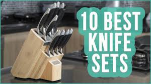 best knife set 2016 top 10 knife sets toplist youtube