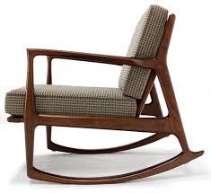 homey ideas mid century modern rocking chair contemporary design