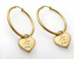 saudi arabia gold earrings hoop earrings etsy