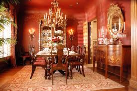 pictures of formal dining rooms red formal dining room