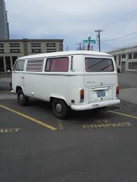 volkswagen bus art white vws in portland
