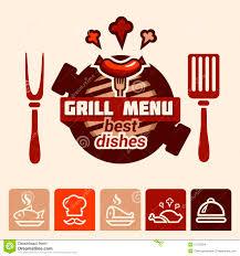 image gallery of menu logo design