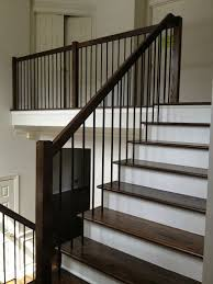 Railings And Banisters Best 25 Painted Stair Railings Ideas On Pinterest Railings