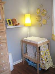 Sniglar Change Table Changing Table Corner With New Shelves Yellow Ikea L A Flickr