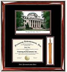 diploma frames with tassel holder of florida diploma frame rosewood w gold lip 3d laser