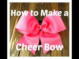 how to make girl bows diy easy no sew cheer bow like our page https www